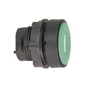 Tête de bouton poussoir - Ø22 - Vert - I