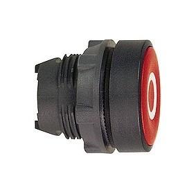 Tête de bouton poussoir - Ø22 - Rouge - 0