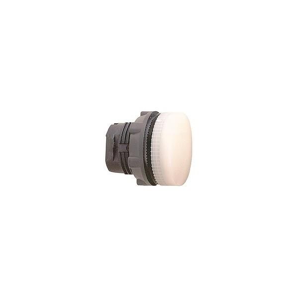 Tête de voyant - Ø22 - Blanc