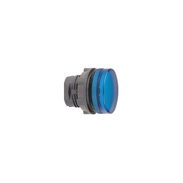 Tête de voyant - Ø22 - Bleu