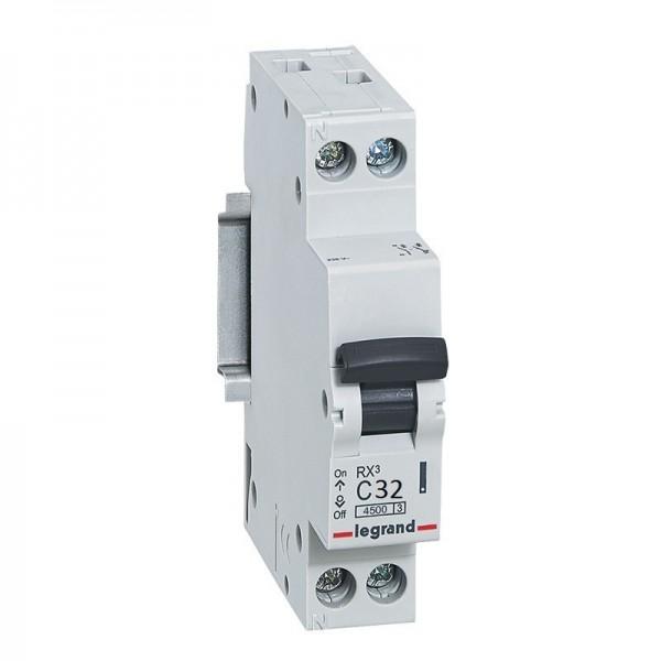 LEGRAND RX3 C32A Disjoncteur Phase + Neutre - 419952