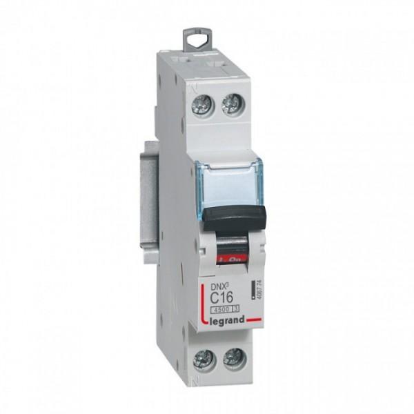 LEGRAND DNX3 C16A Disjoncteur Phase + Neutre - 406774