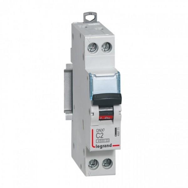 LEGRAND DNX3 C2A Disjoncteur Phase + Neutre - 406771