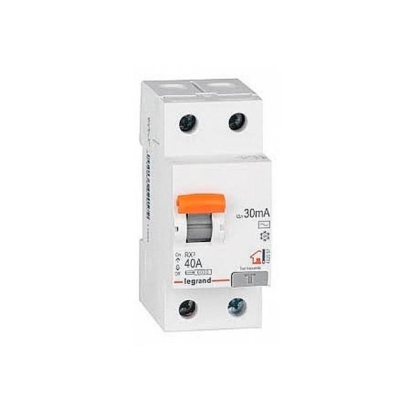 40A 30mA Type A LEGRAND RX3 Interrupteur différentiel - 402060