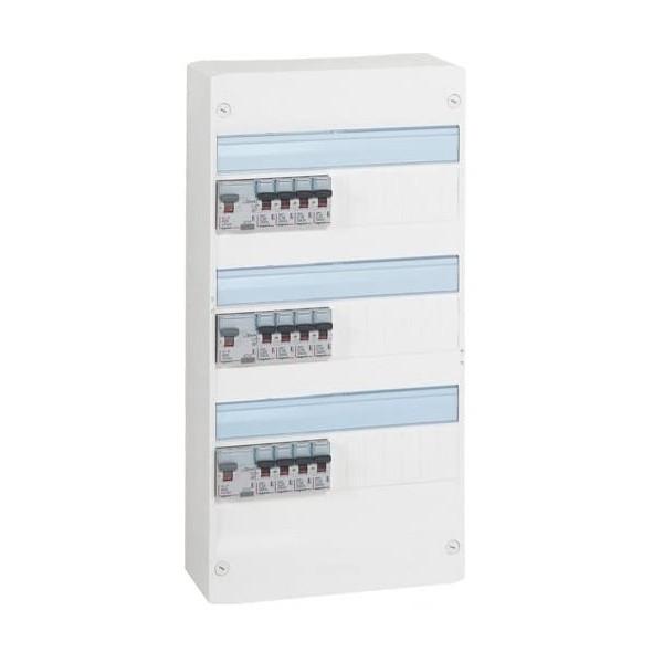 LEGRAND Tableau électrique pré-équipé 3 rangées