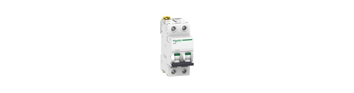 Disjoncteur IC60N, 10kA, 2 Poles, Courbe C